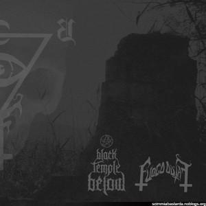 Fuoco Fatuo / Black Temple Below split lp